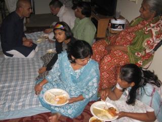 19-Guests at Sridhar Prabhu's home program