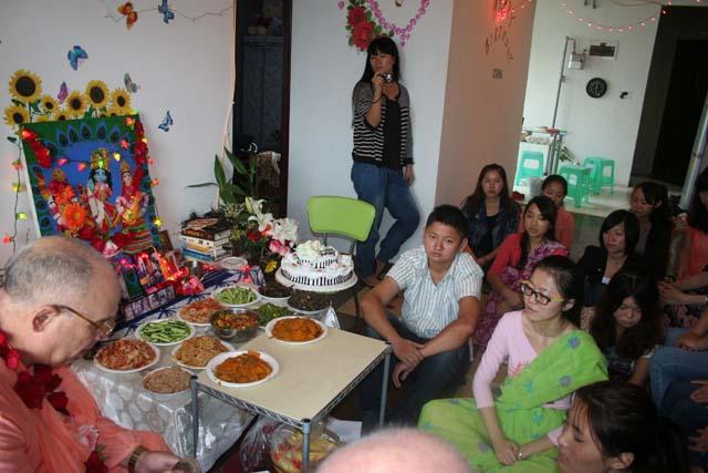 11-Srila Janardan Maharaj in Chongqing, China