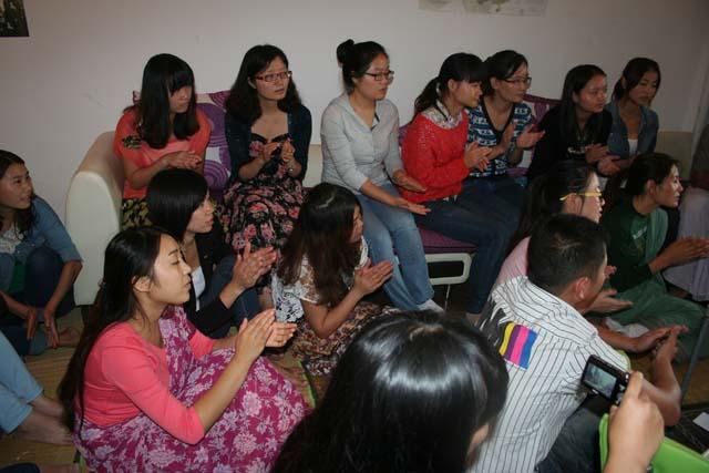 12-Srila Janardan Maharaj in Chongqing, China