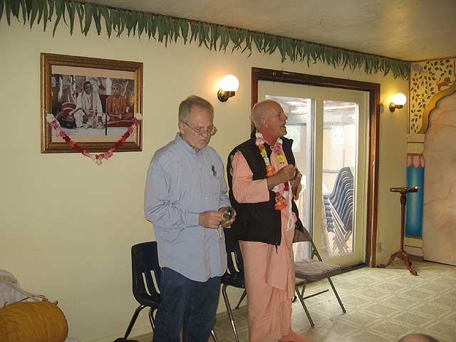 03-Initiation of Brajanath Krishna at Soquel Seva Ashram