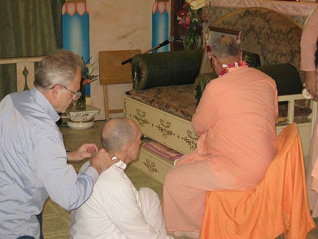 05-Initiation of Brajanath Krishna at Soquel Seva Ashram