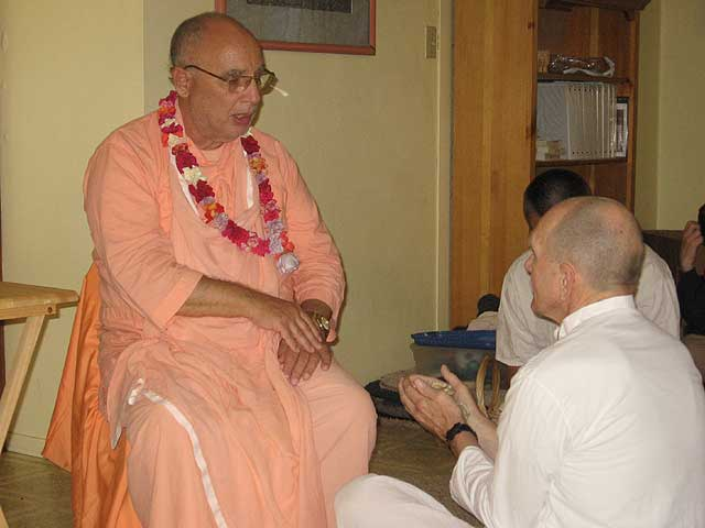 08-Initiation of Brajanath Krishna at Soquel Seva Ashram