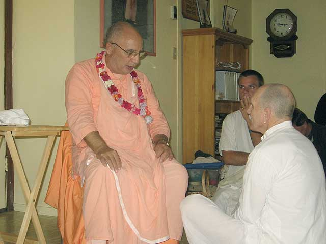 09-Initiation of Brajanath Krishna at Soquel Seva Ashram