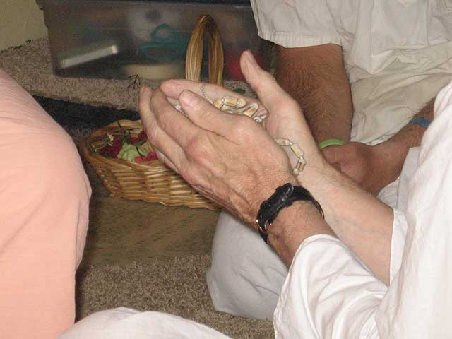 11-Initiation of Brajanath Krishna at Soquel Seva Ashram
