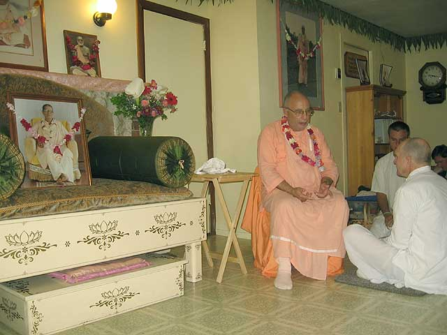 12-Initiation of Brajanath Krishna at Soquel Seva Ashram
