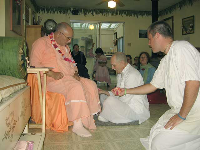 13-Initiation of Brajanath Krishna at Soquel Seva Ashram