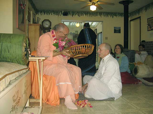 15-Initiation of Brajanath Krishna at Soquel Seva Ashram
