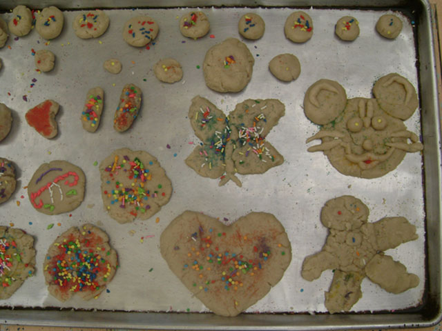20-Here are the creative cookies that the campers all made