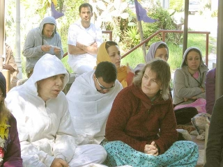 09-Srila Govinda Maharaj Disappearance Program in Soquel April 2012