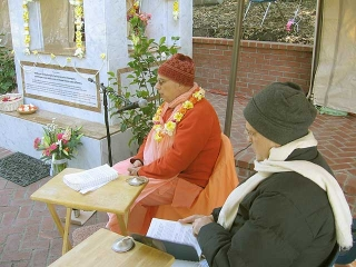 03-Srila Govinda Maharaj Disappearance Program in Soquel April 2012