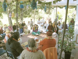 06-Srila Govinda Maharaj Disappearance Program in Soquel April 2012