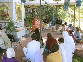 04-Srila Govinda Maharaj Disappearance Program in Soquel April 2012