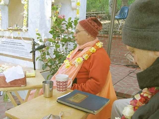 15-Srila Govinda Maharaj Disappearance Program in Soquel April 2012