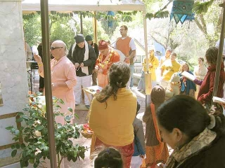 22-Srila Govinda Maharaj Disappearance Program in Soquel April 2012