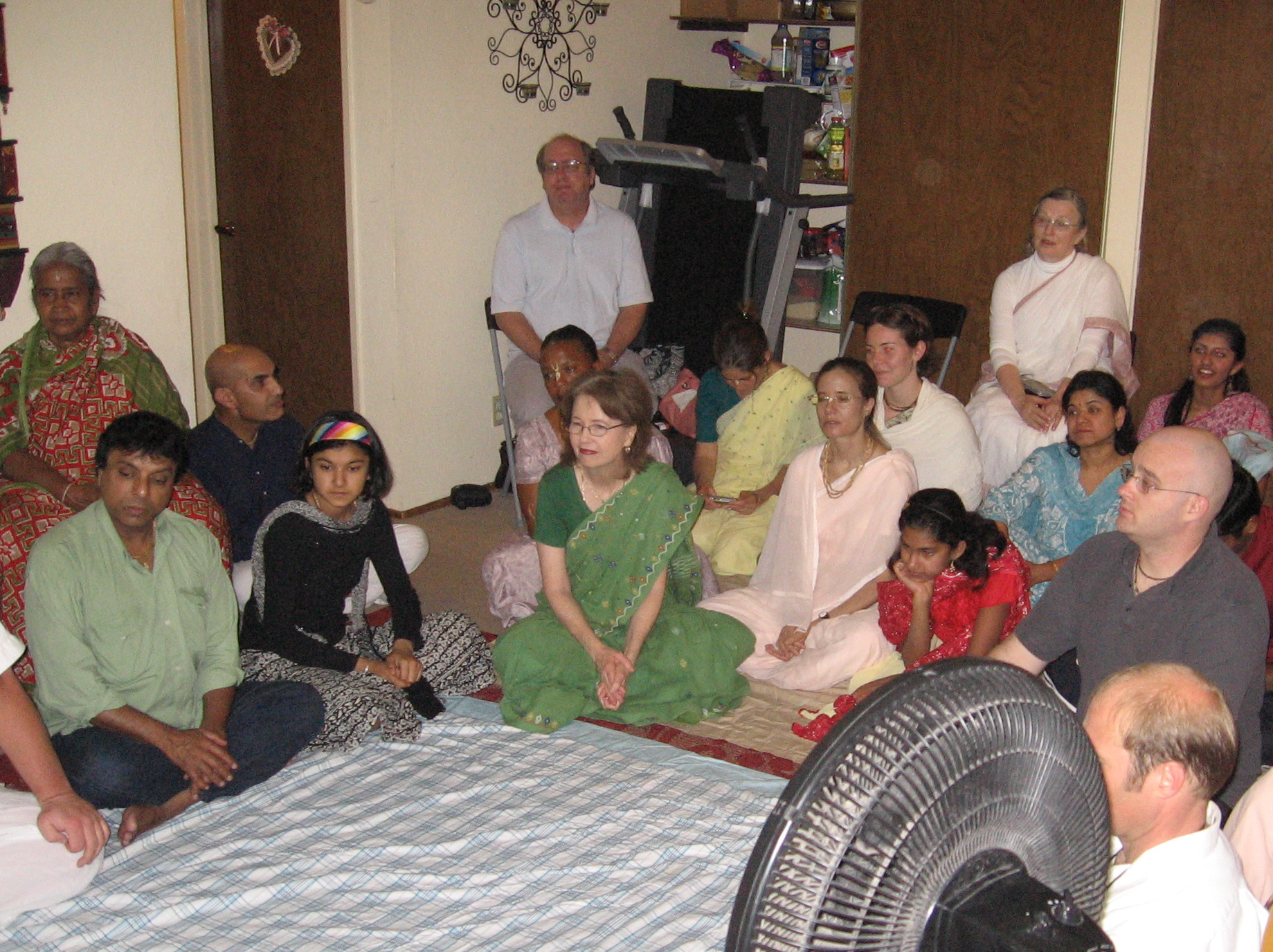 05-Guests at Sridhar Prabhu\'s home program