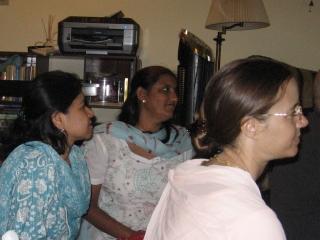 11-Guests with Nandarani Devi and Bhakti Lalita Devi
